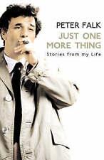 Solo una cosa más por Peter Falk Columbo/(libro de bolsillo, 2008)