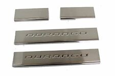 2011 2012 2013 DODGE DURANGO STAINLESS STEEL DOOR SILL GUARDS MOPAR 82212281