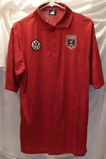 DC United MLS Red Soccer Polo/Golf Shirt Mens Size Small
