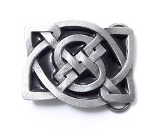 CELTIC KNOT BLACK BELT BUCKLE 14043 new dance music heritage belt buckles