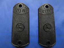 Colt 1902 Black Hard Molded Grips from a Gunsmiths estate