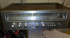 Vtg Pioneer SX-650 Silver Face AM/FM Stereo Receiver works for parts read
