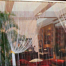 99FT Garland Diamond Strand Acrylic Crystal Bead Curtain Wedding DIY Party Decor
