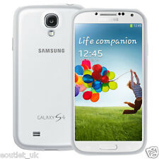 Samsung Galaxy S4 Protective Cover/Case - White Genuine Official NEW