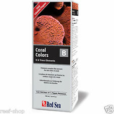 Red Sea Coral Colors B Potassium & Boron Supplement 16.9 oz Reef FREE USA SHIP!