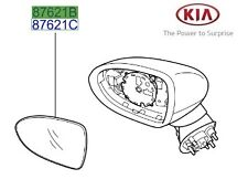 Genuine Kia Ceed 2012-2017 Mirror Glass RH - 87621A2010