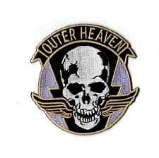 METAL GEAR SOLID OUTER HEAVEN PATCH Iron on patch BIG BOSS Cosplay