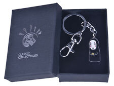Spirited Away No Face Faceless Keychain Key Chain Keyring With Box