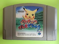 Hey You Pikachu Genki Dechu 64 Nintendo 64 N64 FREE Shipping USED JAPAN GAME