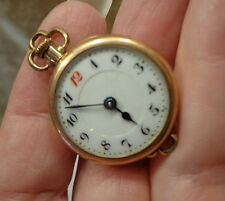 Vintage S W C Co. POCKET Watch 15 Jewels 9 adjustments 20 Years NOT WORKING
