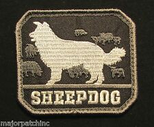 SHEEPDOG US USA ARMY K9 MORALE BADGE INFIDEL SWAT VELCRO® BRAND FASTENER PATCH