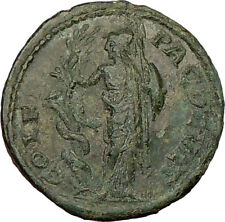 GORDIAN III 238AD ATHENA rape Serpent ERICHTHONIUS Ancient Roman Coin i17222