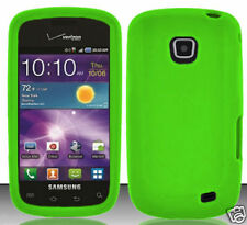 Silicon Green Case For Straight Talk Samsung Galaxy Proclaim SCH-S720C Phone