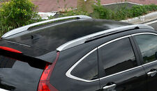 Silver Roof rack side Rail luggage carrier Bars For Honda CR-V CRV 2013-2016