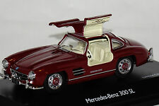 Mercedes 300 SL 1955 bordeaux 1 of 1000 1:43 Schuco neu + OVP 2495