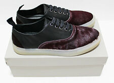Portugal SILENT DAMIR DOMA Calf-Hair & Leather Low Sneakers 41-EU 8-US shoes