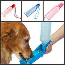 500ml Foldable Pet Dog Cat Water Drink Bottle Dispenser Feeder for Pet Travel