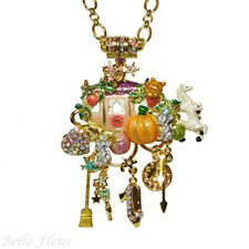 Kirks Folly Cinderella Coach Late for the Ball Magnetic Enhancer and Necklace