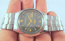 PREOWNED Vintage Citizen 21J Automatic D&D CLEAN SHINY DIAL Japan Made WATCH#21