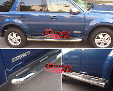 """3"""" NerfBar Stainless Steel FOR 08-10FORD ESCAPE/MAZDA TRIBUTE/MERCURY MARINER"""