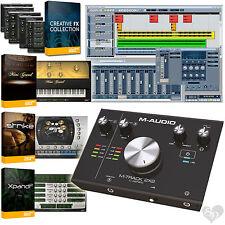 M-Audio M-Track 2X2 C-Series USB + USB-C Audio Recording Interface + Cubase LE