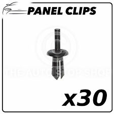 Panel Clips Plastic Nuts For Tapping Screws 4 MM Peugeot 206 (9096) Pack of 30