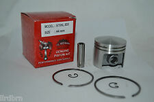 PISTON AND RINGS FITS STIHL 031, STIHL PART # 1113-030-2001, 44MM KIT, NEW