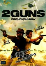 2 Guns (Region 3) Movie Denzel Washington, Mark Wahlberg  Brand New DVD
