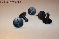 5 x Halteklammer Clips Motorschutz Unterschutz Schraube Audi A4 A6 A8 4A0805121C