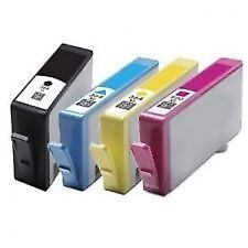 4 HP 364 XL CHIPPED Ink Cartridge for Photosmart 5510 5515 5520 5524 6510 C6380
