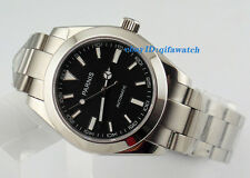 40mm Date&Day Parnis Sapphire Glass Stainless Steel  Automatic Men's Watch 1432