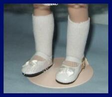 "WHITE Patent Mary Jane Doll Shoes for Tonner Modern 14"" Betsy McCall"