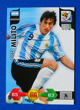 CARD PANINI ADRENALYN WORLD CUP SOUTH AFRICA 2010 - MILITO - ARGENTINA