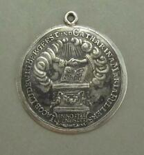 Interesting Silver Antique Marriage 50th Anniversary Medal Germany 1771 Bergeest