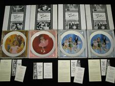 Set 4 Shirley Temple Collector Plates; Nostalgia Collectibles Stand Up and Cheer