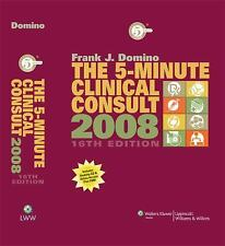 The 5-Minute Clinical Consult, 2008 (The 5-Minute Consult Series), , Good Book