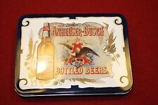 Anheuser Busch Playing Cards in tin