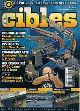 CIBLES N° 453--PISTOLET HOWDAH/COLT NEW AGENT/REMINGTON CUSTER/PT-80 GAMO