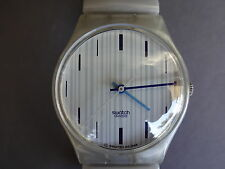 SWATCH MONTRE BRACELET  FLEX GENT HOMME FEMME BLEU GELATINE GM149 WATCH 1998