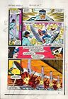 1983 Captain America Annual 7 page 19 Marvel Comics color guide art: 1980's