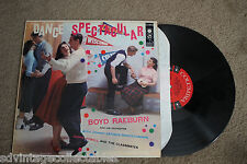 DANCE SPECTACULAR 50s Rock-n-Roll Poodle Skirt College Football RECORD LP VG