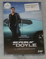 Republic of Doyle Complete Season 2 Two - DVD Box Set - NEW & SEALED