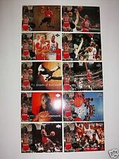 MJ Decade of Dominance Upper Deck SPANISH 10 Card Insert Set NBA 1994-95 Jordan