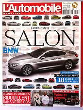 L'Automobile 10/2010; Spécial Salon, 18 vedettes à l'essai/ Enquête fiabilité