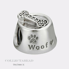 Authentic Pandora Sterling Silver Woof Bead 791708CZ