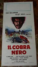 LOCANDINA, IL COBRA NERO, FRED WILLIAMSON, GOULD, WHITMAN, BLAXPLOITATION