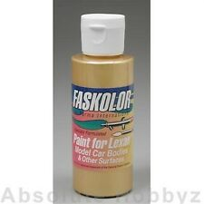 Parma 40053 PSE Faskolor Peral Gold Lexan Body Paint (2oz)