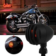 2pcs Universal Motorcycle Turn Signal Indicator Light For Harley Chopper Bobber