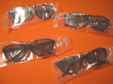 LG Cinema AG-F310 3D Polarized PASSIVE GLASSES for LCD LED TV 4 Pairs