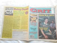 GRIT-MAY 6,1990-FOOD IN A JIFFY-SERVING'EM UP ON THE DOUBLE